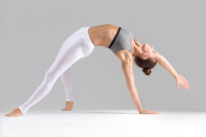 Wild Thing - A wild yoga pose