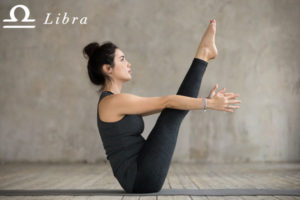 Boat Pose for Libra - check out more yoga poses for the zodiac signs