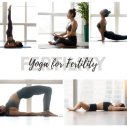 Yoga poses for Fertility