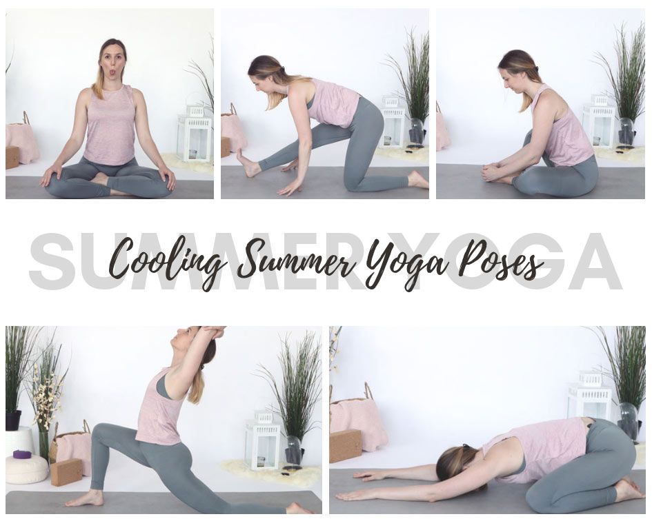 Try my favorite cooling summer yoga poses