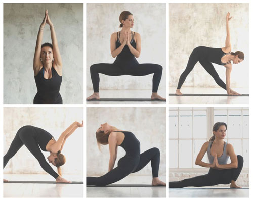 Try Moon Salutations to feel grounded and calm