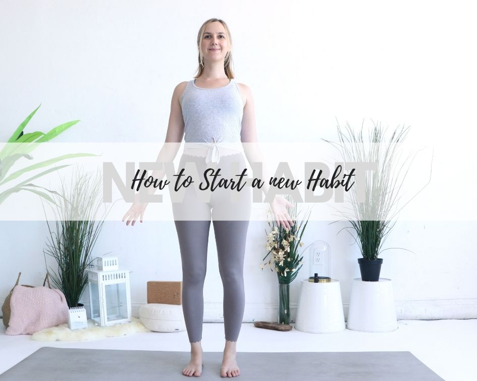 How to start a new yoga habit