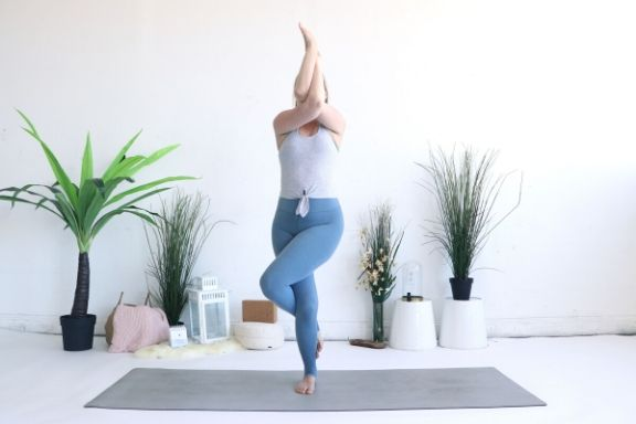 Check out our top tips for balancing yoga poses