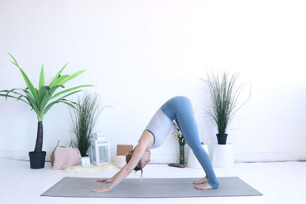 Downward Facing Dog is a great pose to start the new year