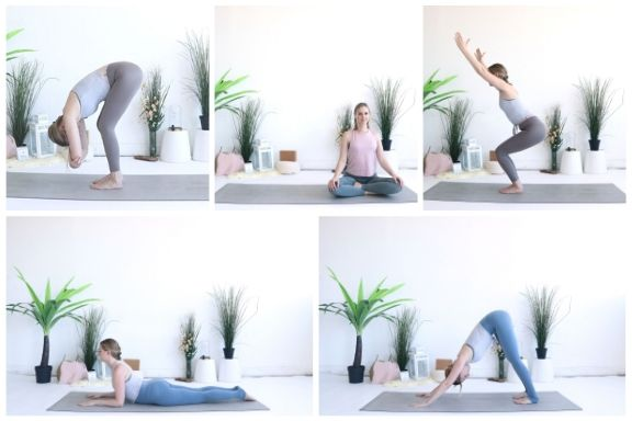 Start yoga in the new year! Try these poses to make it a success!