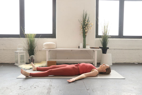 Savasana - self-love yoga