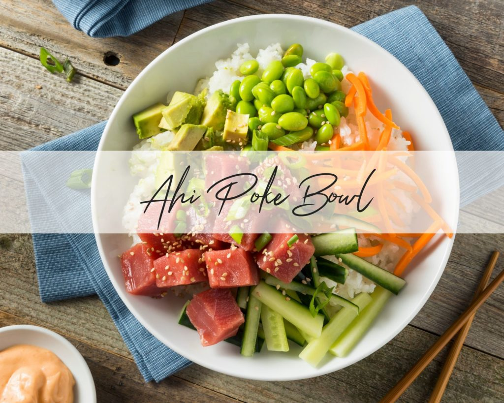 Try this delicious and so easy Ahi Poke Bowl