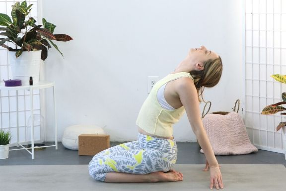 Try these yoga poses to transition into Spring