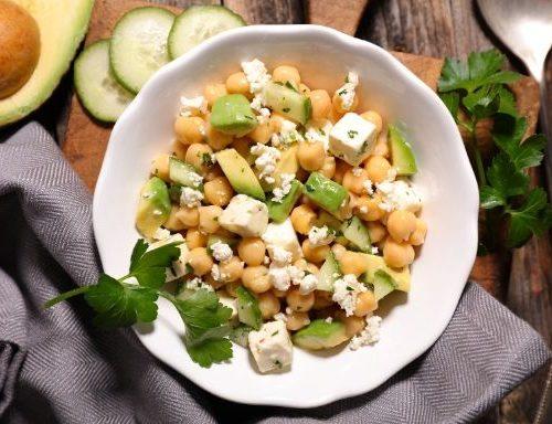Chickpea, Avocado & Feta Salad