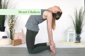 Yoga Poses for the Chakras - Heart Chakra