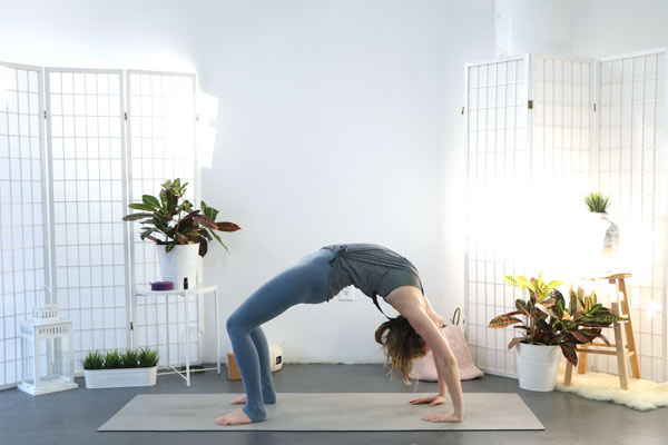 Wheel Pose - Yoga