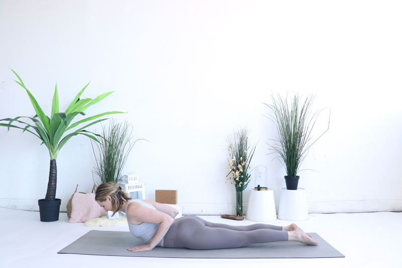 Cobra Pose is perfect for the Heart Chakra