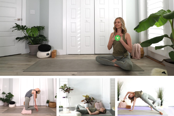 5 Yoga Poses for the Heart Chakra
