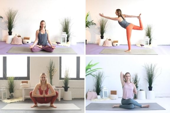 Try these yoga poses when you travel