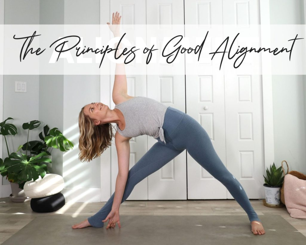 Follow these most alignment tips in your yoga practice