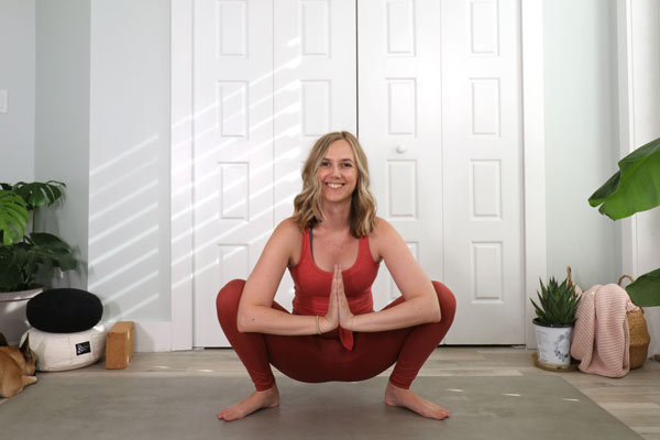 Yogi Squat for the Sacral Chakra