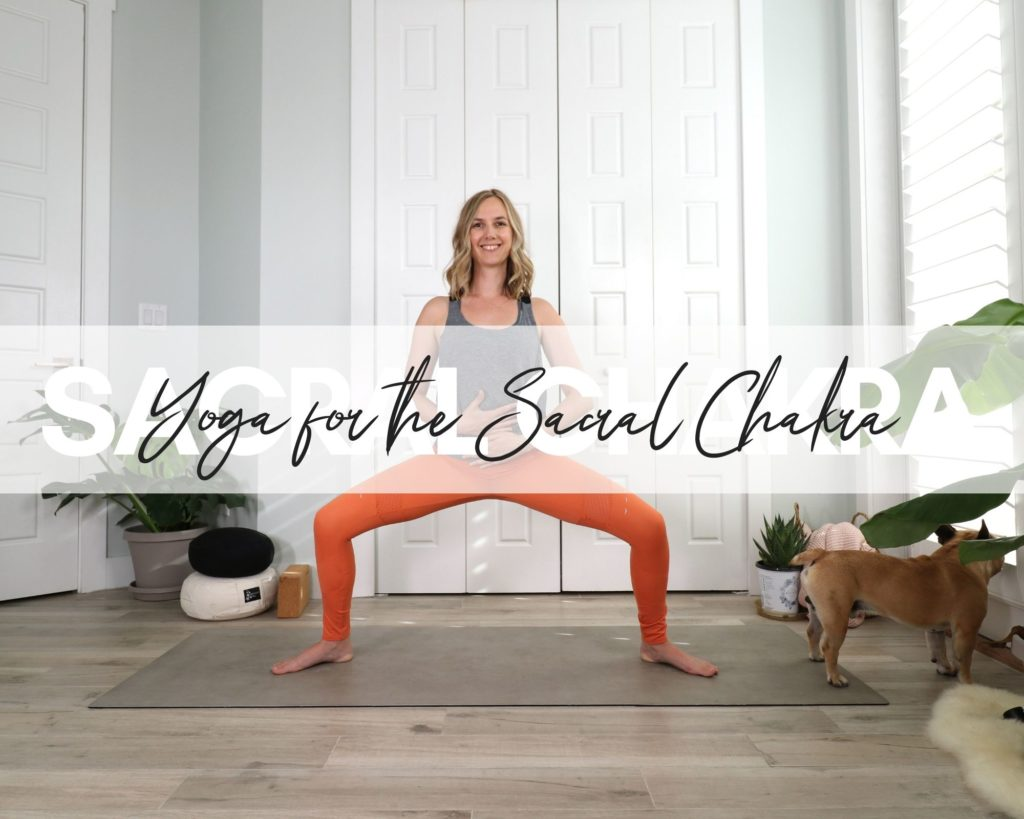 Check out my favorite yoga poses for the Sacral Chakra