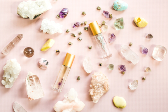 Essential Oils and Crystals for each Chakra