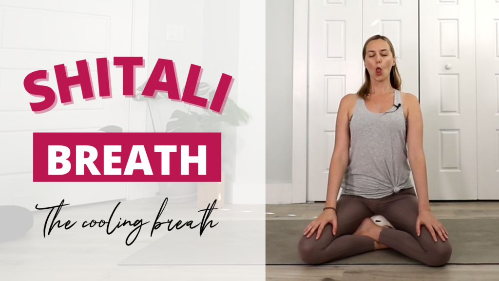 Shitali Breath or the cooling breath if perfect for the summer of if you feel hot in your body or mind
